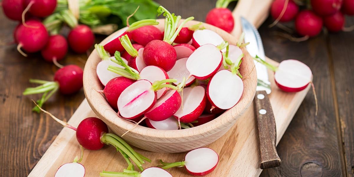 Le légume du mois: le radis rose