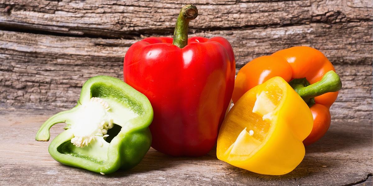 Le légume du mois : le poivron